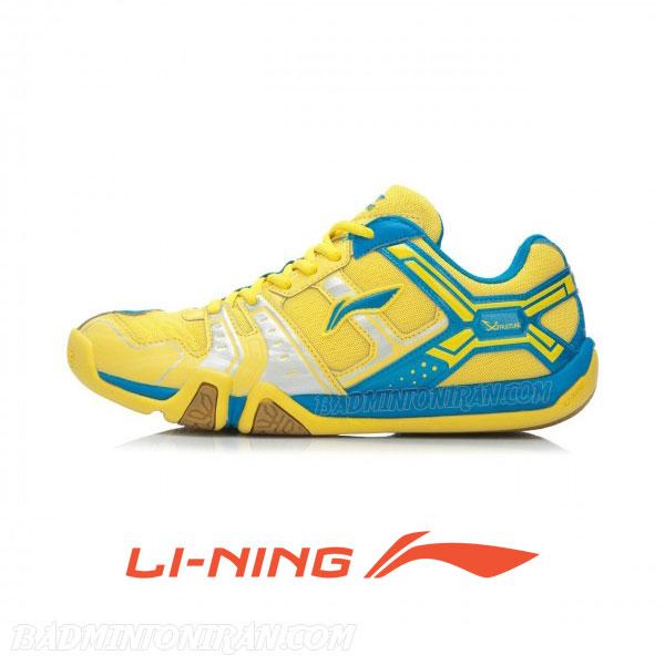 Badminton Shoes YELLOW AYTJ073 1 بدمینتون ایران