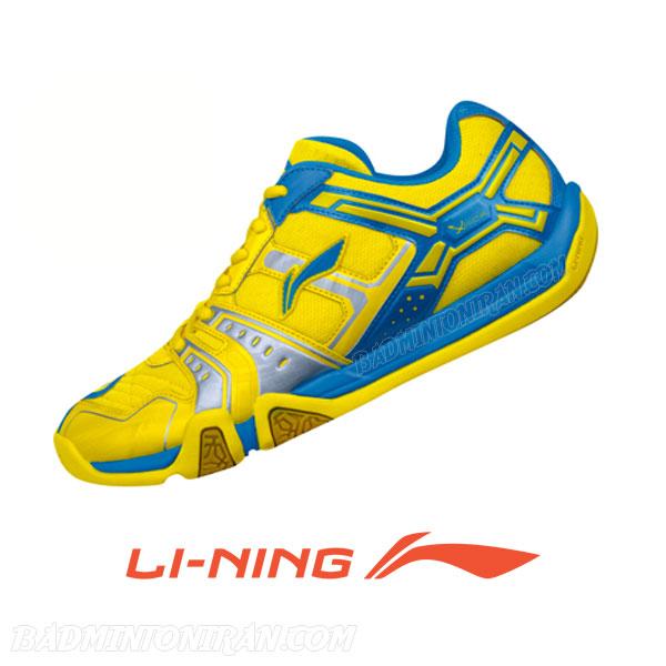 Badminton Shoes YELLOW AYTJ073 3 بدمینتون ایران
