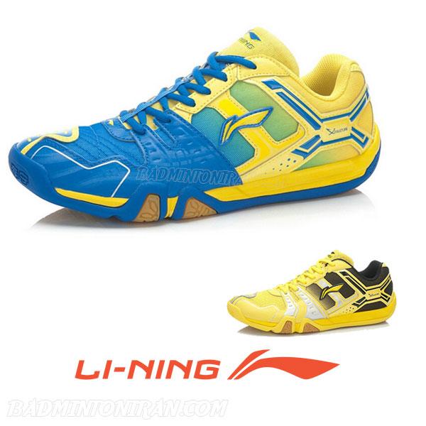Badminton Shoes YELLOW AYTJ073 6 بدمینتون ایران
