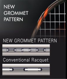 bad tech NEW Grommet Pattern بدمینتون ایران