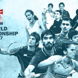 world championship badminton 2017 POSTER