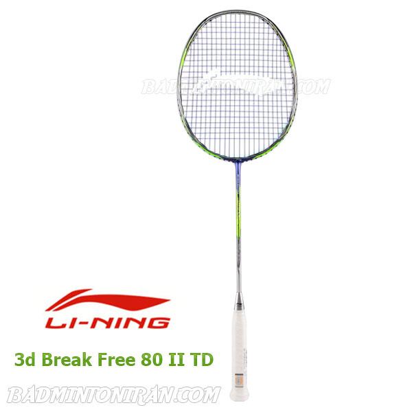 Lining 3d Break Free 80 II TD 1 بدمینتون ایران