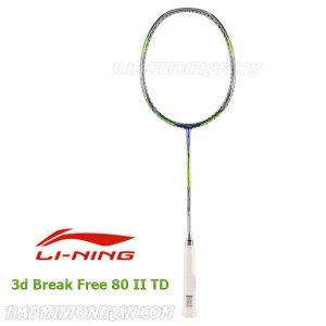 Lining 3d Break Free 80 II TD 2 بدمینتون ایران