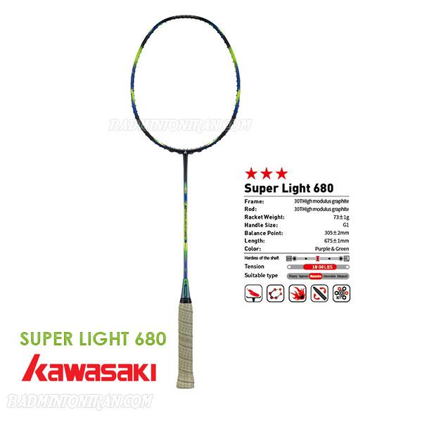 kawasaki SUPER LIGHT 680 7 بدمینتون ایران