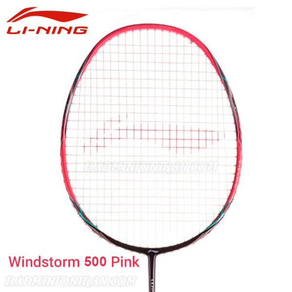 Li Ning Windstorm 500 Pink 3 بدمینتون ایران