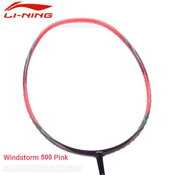 Li Ning Windstorm 500 Pink 5 بدمینتون ایران