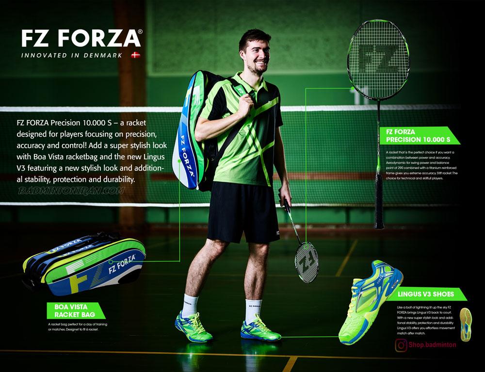 badminton shoes lingusv3 fzforza full