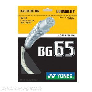 yonex bg 65 badminton string ok بدمینتون ایران