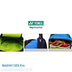 YONEX BAG9812EX Pro side up بدمینتون ایران