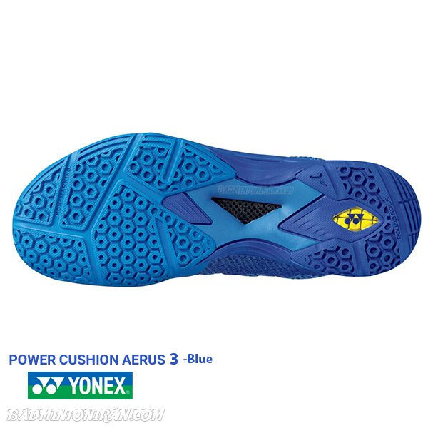 POWER CUSHION AERUS 3 MENS Blue 3 بدمینتون ایران