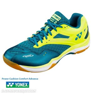 yonex power cushion comfort advance 2 peacock blue 2 بدمینتون ایران