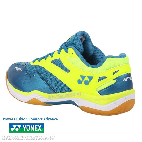 yonex power cushion comfort advance 2 peacock blue 4 بدمینتون ایران