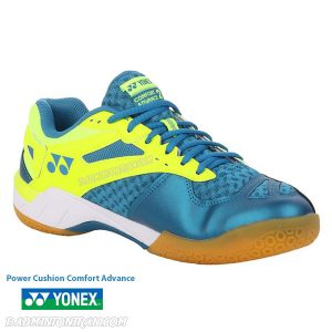 yonex power cushion comfort advance 2 peacock blue 5 بدمینتون ایران