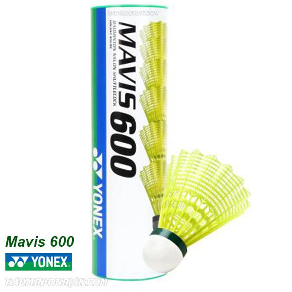 Yonex Mavis 600 Shuttlecocks SLOW YELLOW 1 بدمینتون ایران