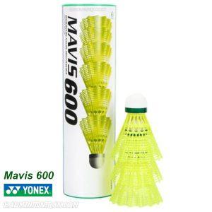 Yonex Mavis 600 Shuttlecocks SLOW YELLOW 2