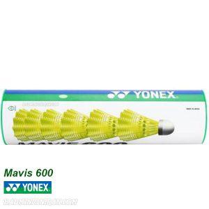 Yonex Mavis 600 Shuttlecocks SLOW YELLOW 3