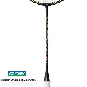 Yonex Nanoray 70Dx Black Lime Green 2
