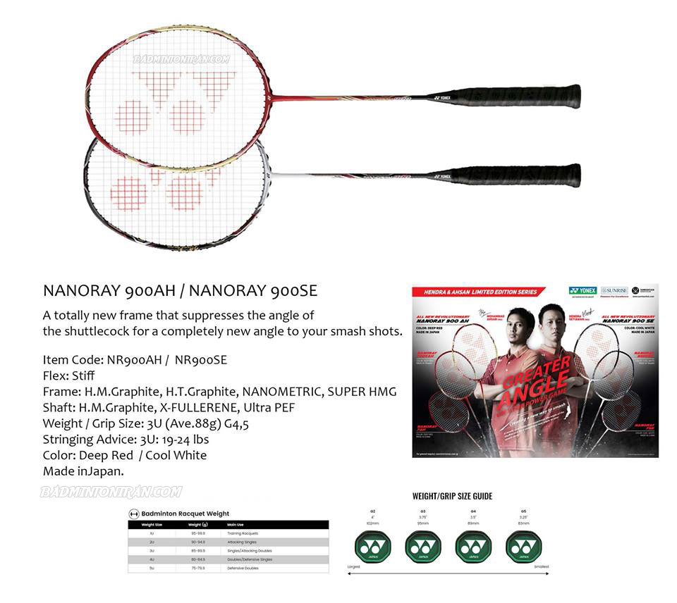 Yonex Nanoray 900SE