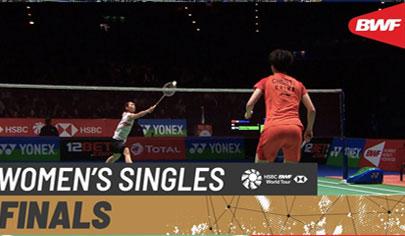 F - WS - CHEN Yu Fei (CHN) vs TAI Tzu Ying (TPE) - YONEX All England Open 2020
