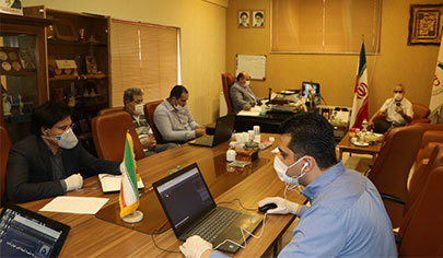 The first meeting of the technical committee of the Badminton Federation was held in 1399 online بدمینتون ایران
