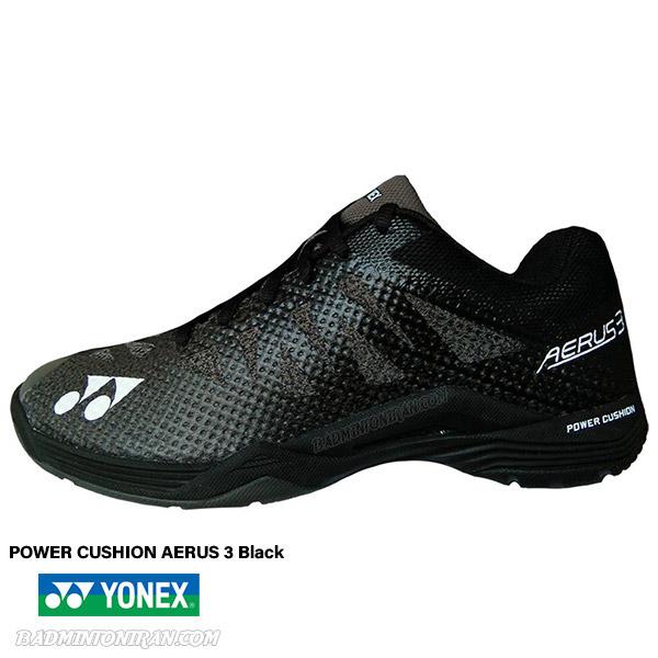 YONEX POWER CUSHION AERUS 3 Black