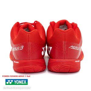 YONEX POWER CUSHION AERUS 3 Red 4