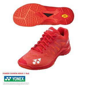 YONEX POWER CUSHION AERUS 3 Red 5